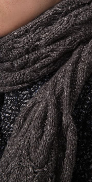 Free People Cable Ground Grazer Scarf