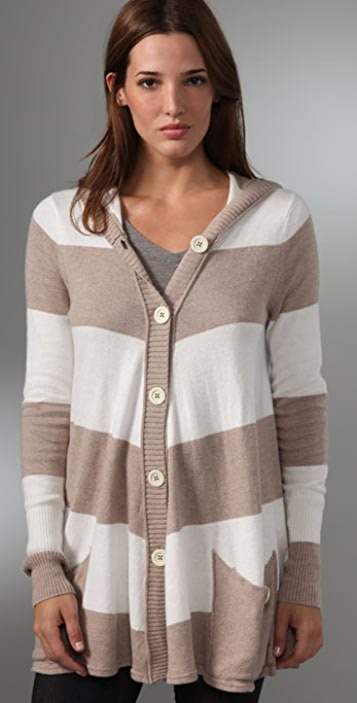 Free People Canopy Striped Cardigan