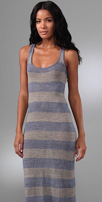 Free People Rolling Hills Striped Long Sweater Dress