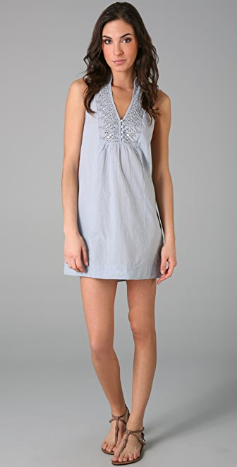 Free People Eyelet Shift Dress