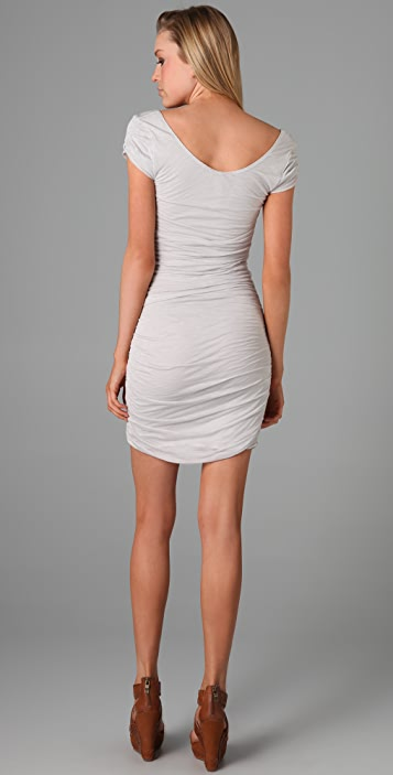 Free People Ruched Jersey Dress