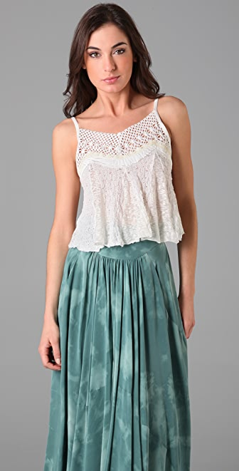 Free People Desert Gypsy Top