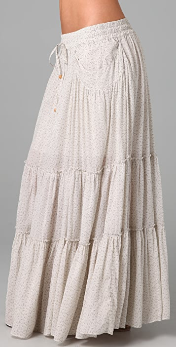 Free People Isn't She Peasant Maxi Skirt