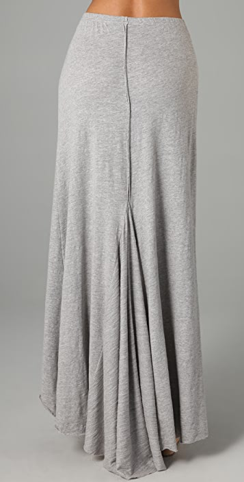 Free People Late Nite Long Skirt