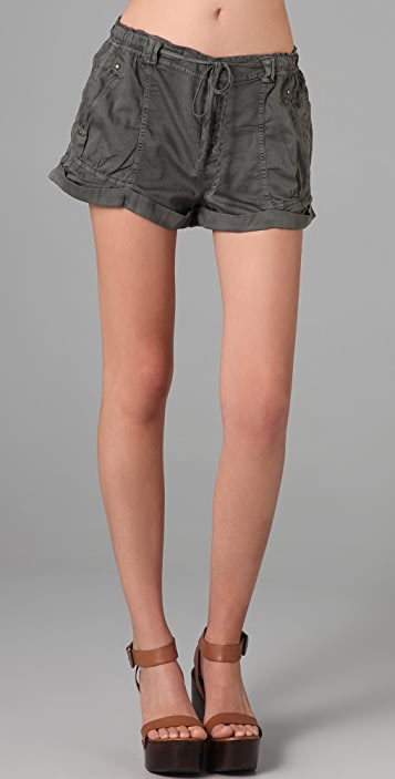 Free People Roll Up Shorts