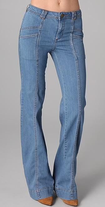 Free People Super '70s Wide Leg Jeans