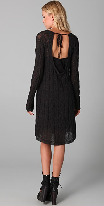 Free People Angel Mohair Sweater Dress