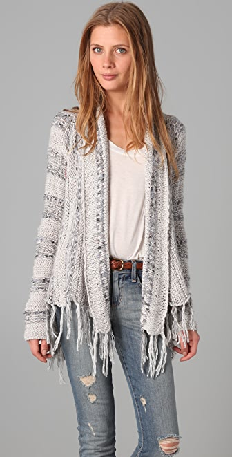 Free People Runaway Love Cardigan