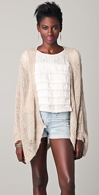 Free People Deva Feeling Free Cardigan