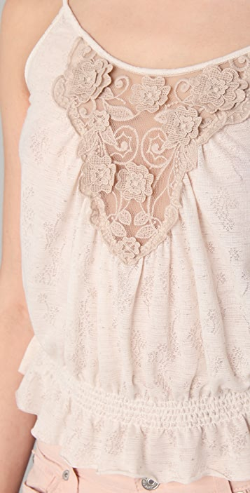 Free People Blossom Of My Heart Top