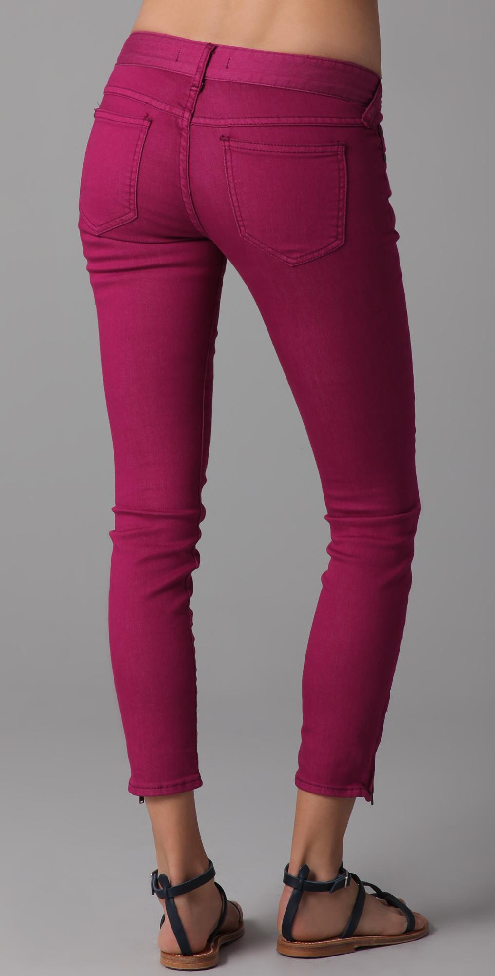 41a385786e0b8 Free People Ankle Zipper Skinny Jeans   SHOPBOP