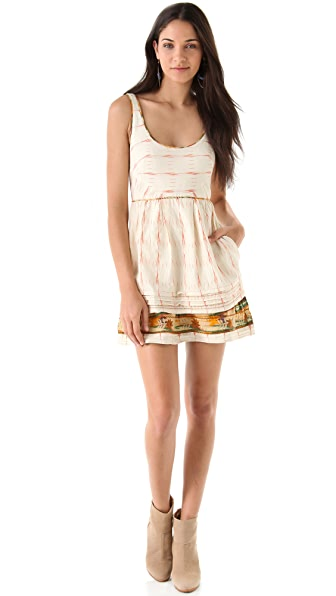Free People Weather Vane Ikat Dress