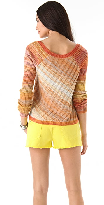 Free People Moonray Pullover Sweater