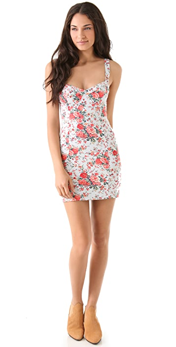 Free People French Terry Bodycon Dress
