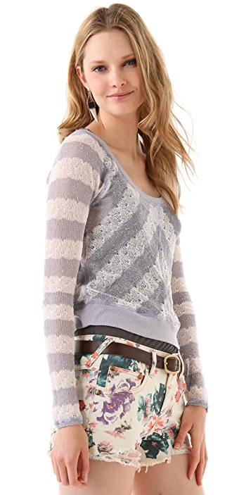 Free People Robins Egg Pullover