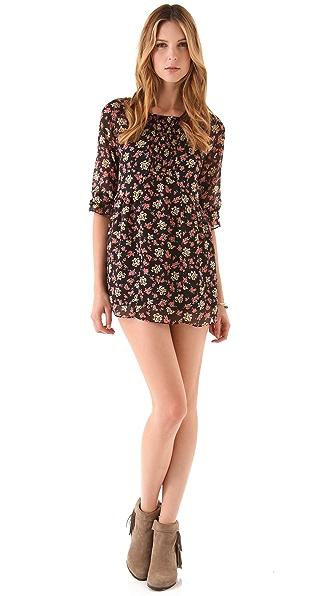 Free People Printed Molly Mini Dress
