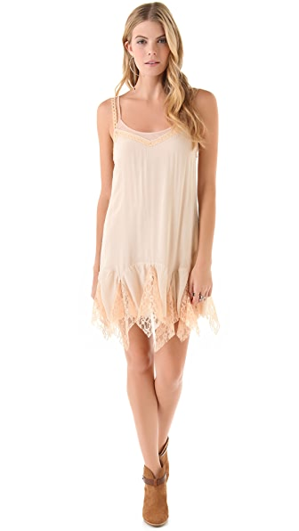 Free People Godet Slip Dress