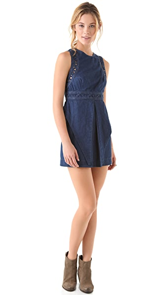 Free People Highland Lattice Dress