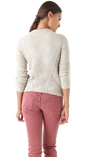 Free People Snuggle Stretch Pullover