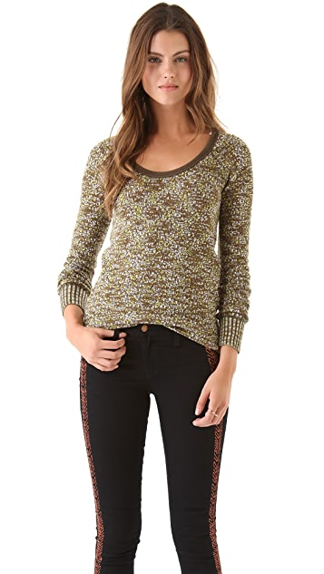 Free People Boston Jersey Sweater Top