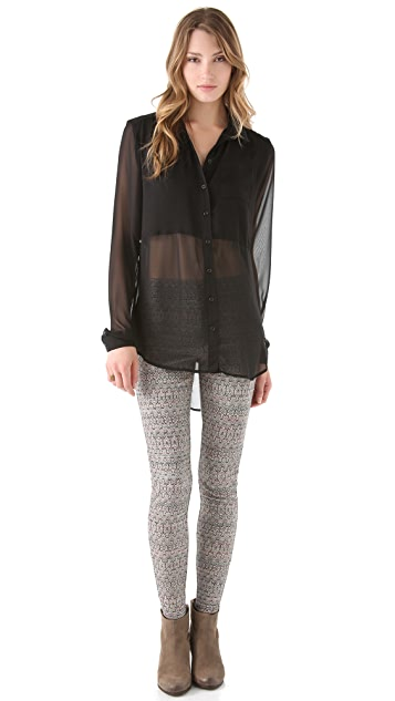 Free People Best of Both Worlds Shirt