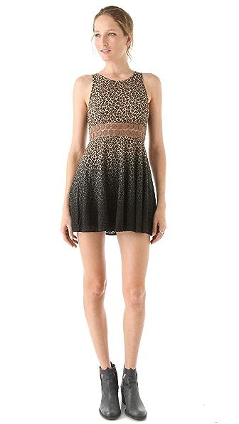 Free People Leopard Daisy Dress