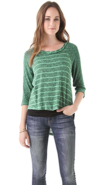 Free People Last Call Raglan Top
