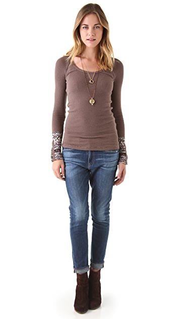 Free People Hyperactive Cuff Top