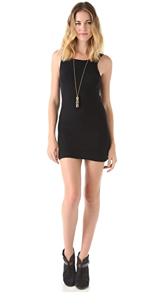 Free People Sweater Slip Dress