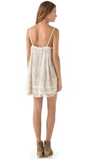 Free People Point d'Esprit Slip Dress