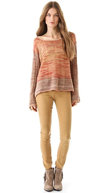 Free People Morning Bell Pullover