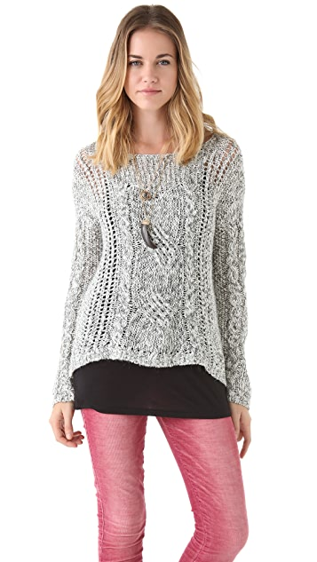 Free People West End Pullover