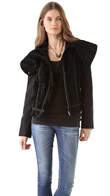 Free People Fancy Lady Coat