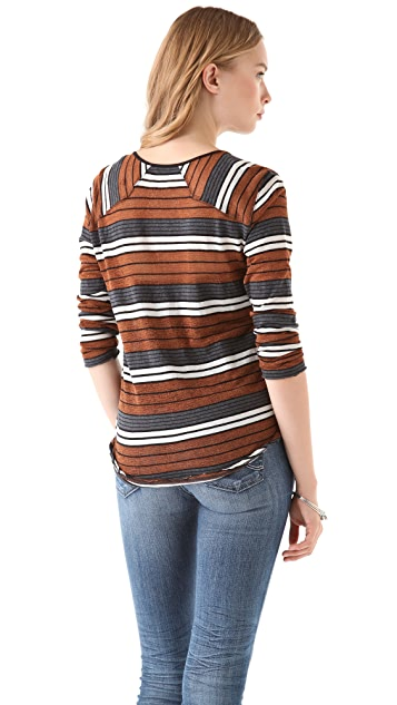 Free People Old School Stripe Henley