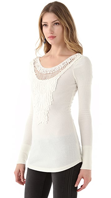 Free People Jack Of All Trades Solid Thermal Top