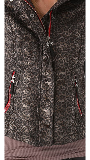 Free People Leopard Pop Jacket