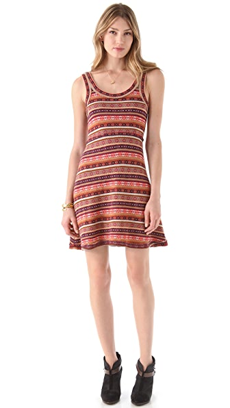 Free People Fair Isle & Flare Dress