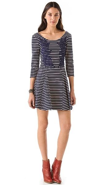 Free People Nautical & Knotty Dress