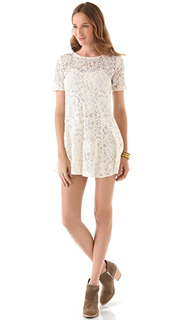 Free People Beautiful Dreamer Lace Dress