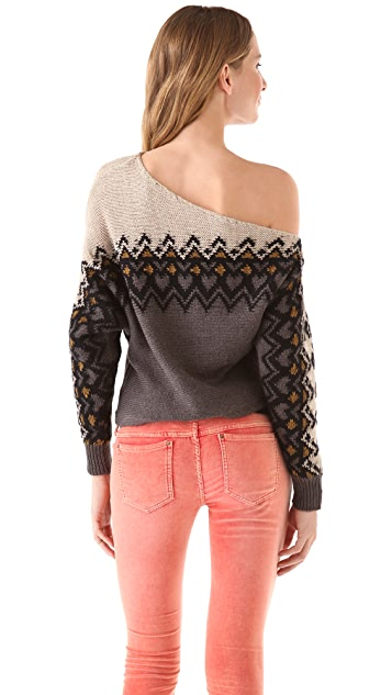 Free People Heart Isle Sweater