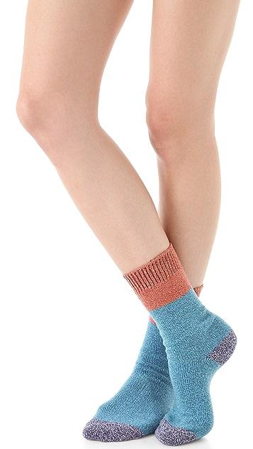 Free People Colorblock Boot Socks