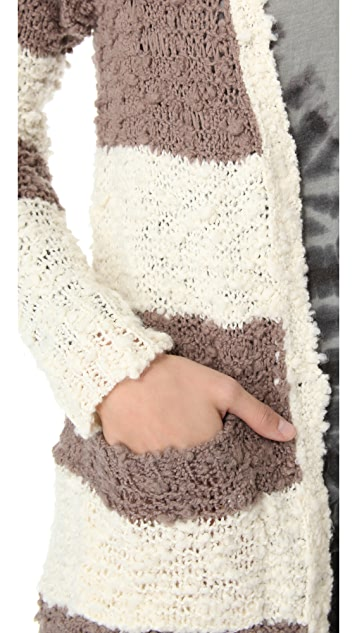 Free People Cuddle Bear Cardigan