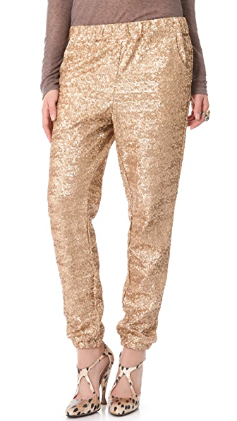 Free People Sequin Party Pants