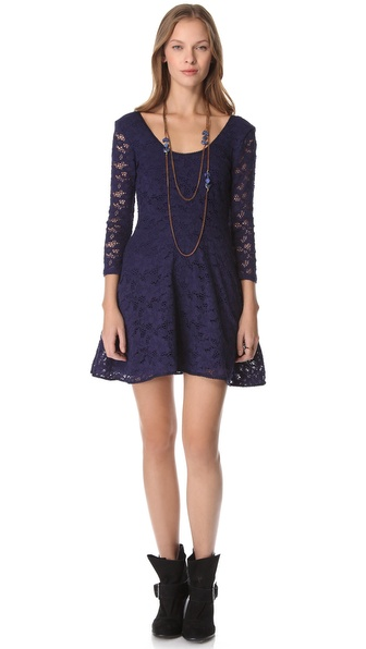 Free People Candy Lace Dress