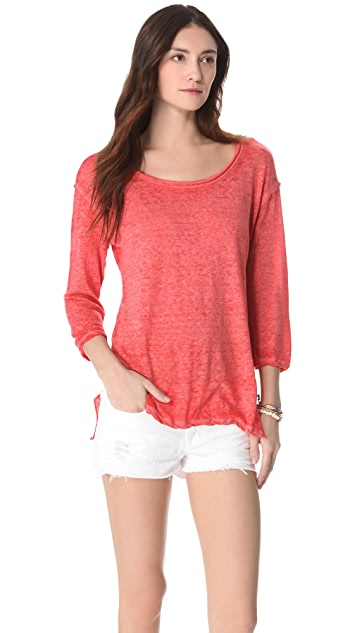 Free People Round Two Pullover