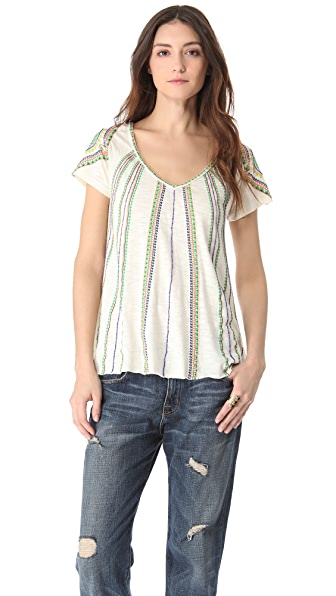 Free People Boho Meadow Tee