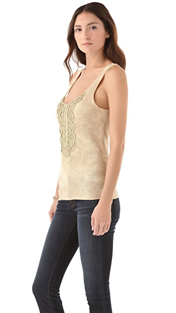Free People Secret Heart Knit Tank