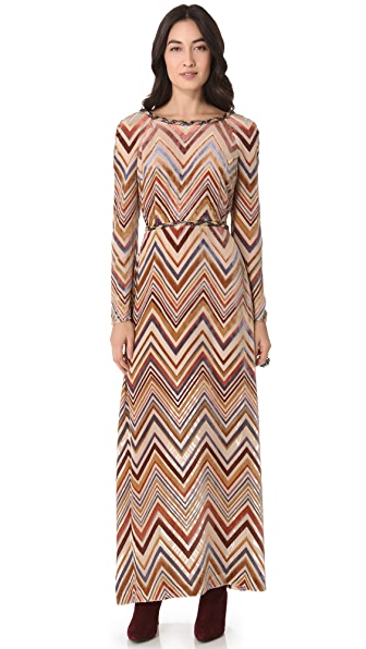 Free People Disco Meadow Maxi Dress