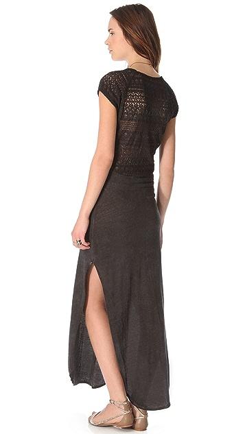 Free People Maxi Lace Dress