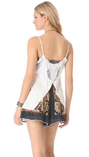 Free People Lace Insert Camisole